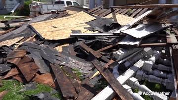 Historic storm destroys historic buildings
