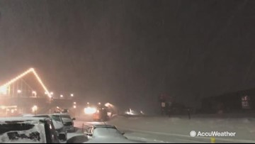 'LIGHTNING!' Reed Timmer gets hyped over thundersnow