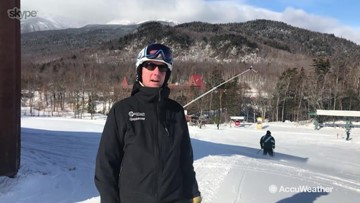 Brian Heon discusses opening day and plans to get to all of Wildcat Mountain open for skiers