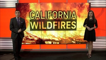 Winds could pick up this weekend in California, adding fuel for more flames