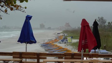 Florida Gulf Coast gets hammered by severe storm