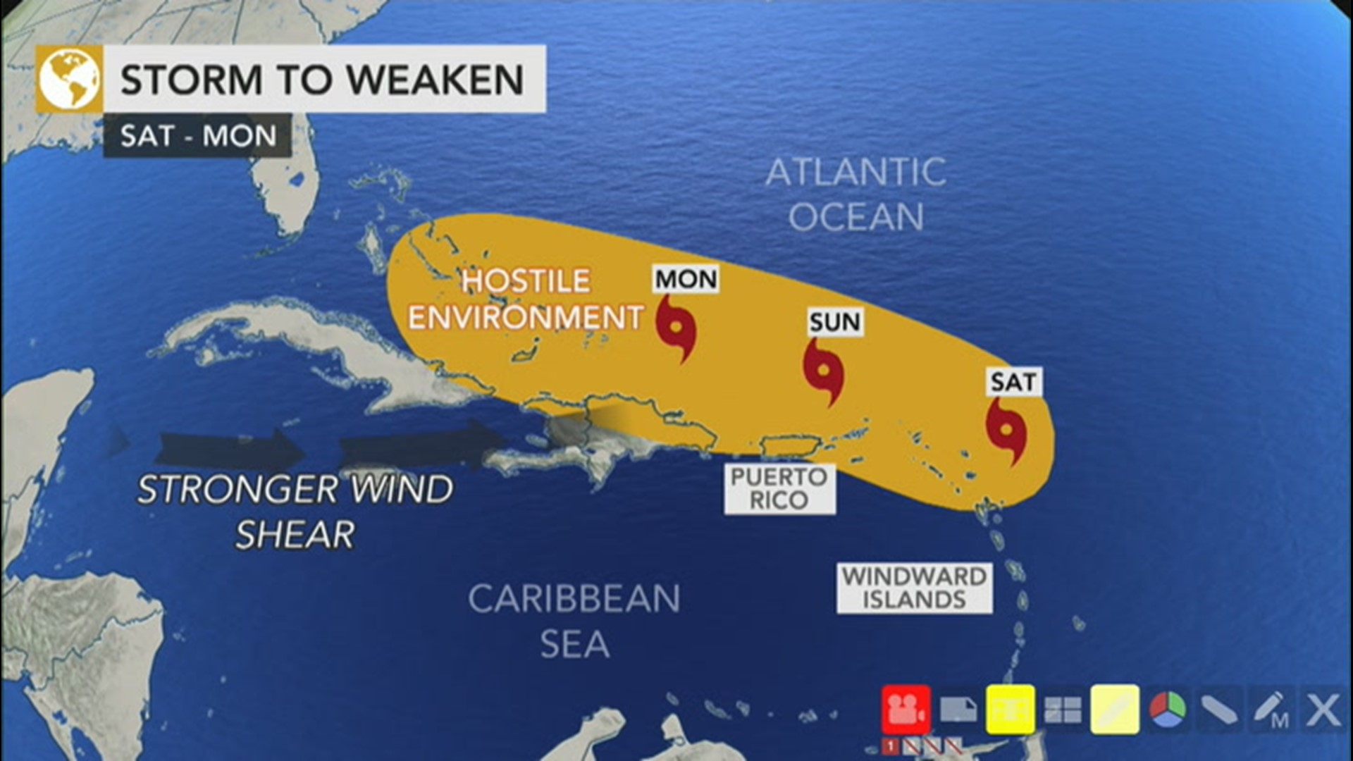 Tropical Storm Josephine Forms Shatters Another Atlantic Hurricane Season Record Kiiitv Com