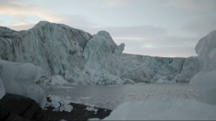Must See Video Shows Glacier Falling Apart