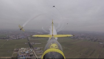 Watch These Aerobatic Teams Perform Death-Defying Stunts on the Wings of Planes!