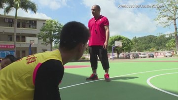 One-Armed Basketball Playing Kid Becomes Inspiration with Unreal Dribbling Skills