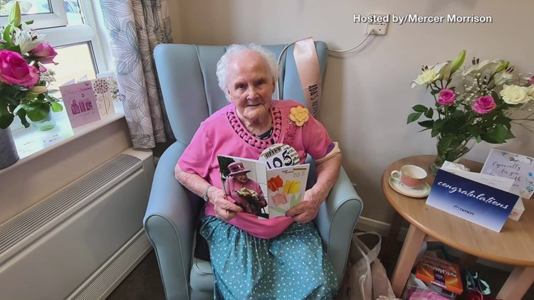 105-year-old woman overwhelmed with nearly 200 birthday cards from strangers