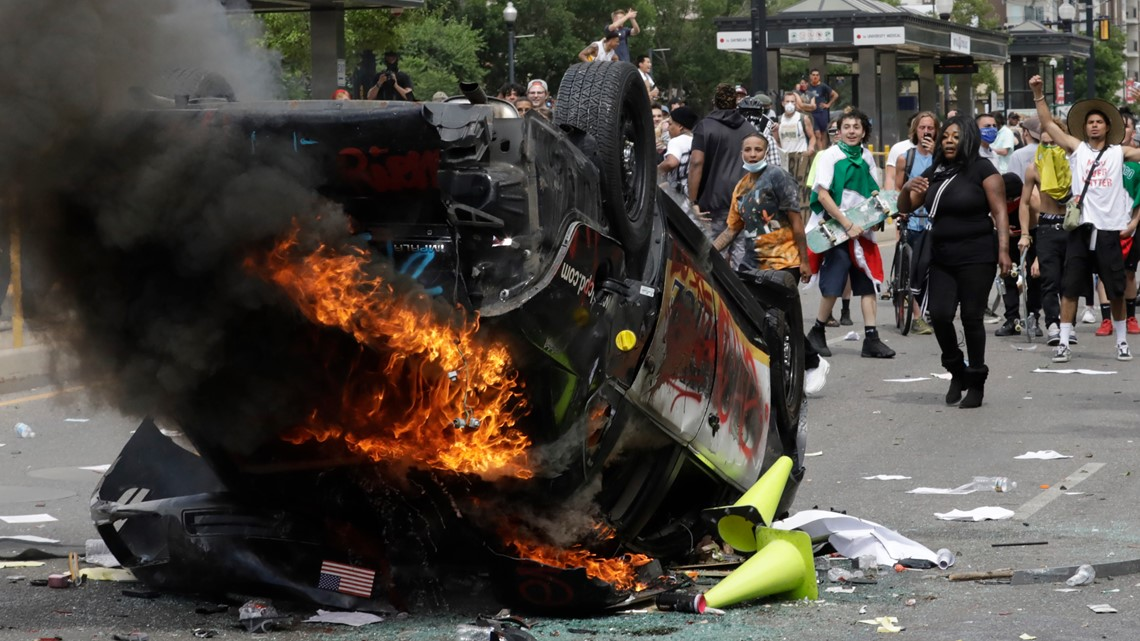 Protest arrests mostly regular people, not left-wing radicals