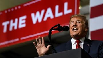 Budget deal has far less wall money than Trump wanted