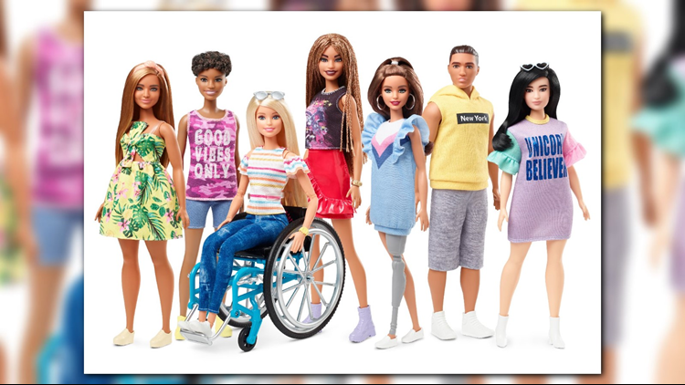 Mattel Unveils Barbie Who Uses Wheelchair And One With A