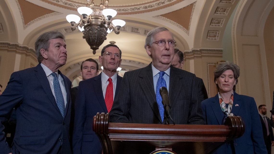 VERIFY: Can senators remove Mitch McConnell to reopen the government?