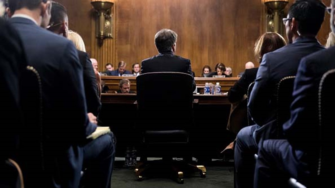 S Kavanaugh Ford hearing in the Senate