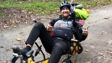 Cyclist biking across America for charity killed in Mississippi
