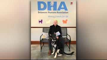 Joe Biden adopts Delaware rescue dog after fostering him for months