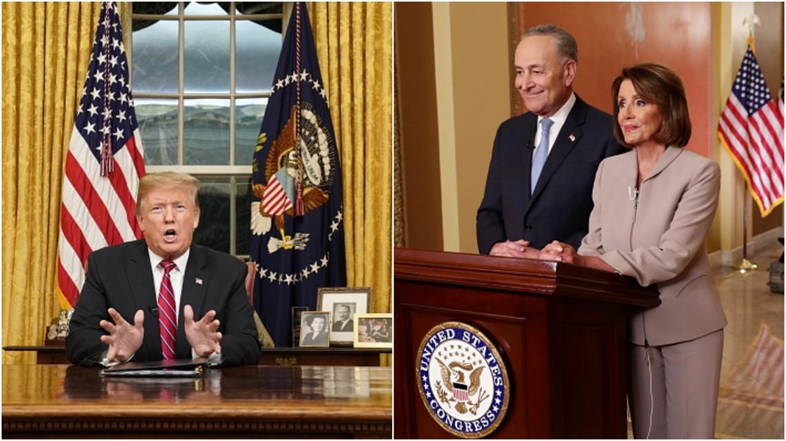 VERIFY: Fact-checking Trump and Pelosi's speeches Tuesday