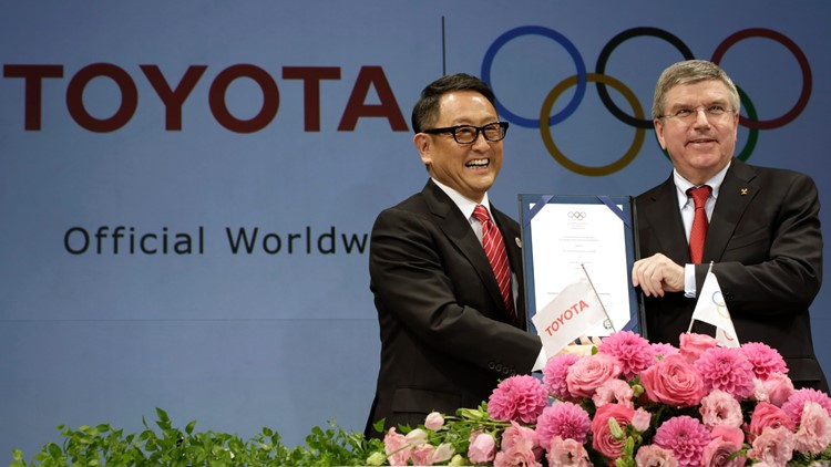 In surprise move, top Olympic sponsor Toyota pulls Games-related TV ads in Japan