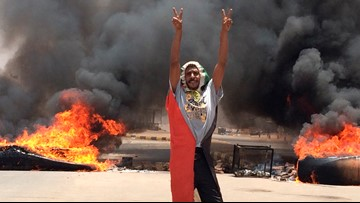 Sudan protest organizers say 40 bodies pulled from Nile