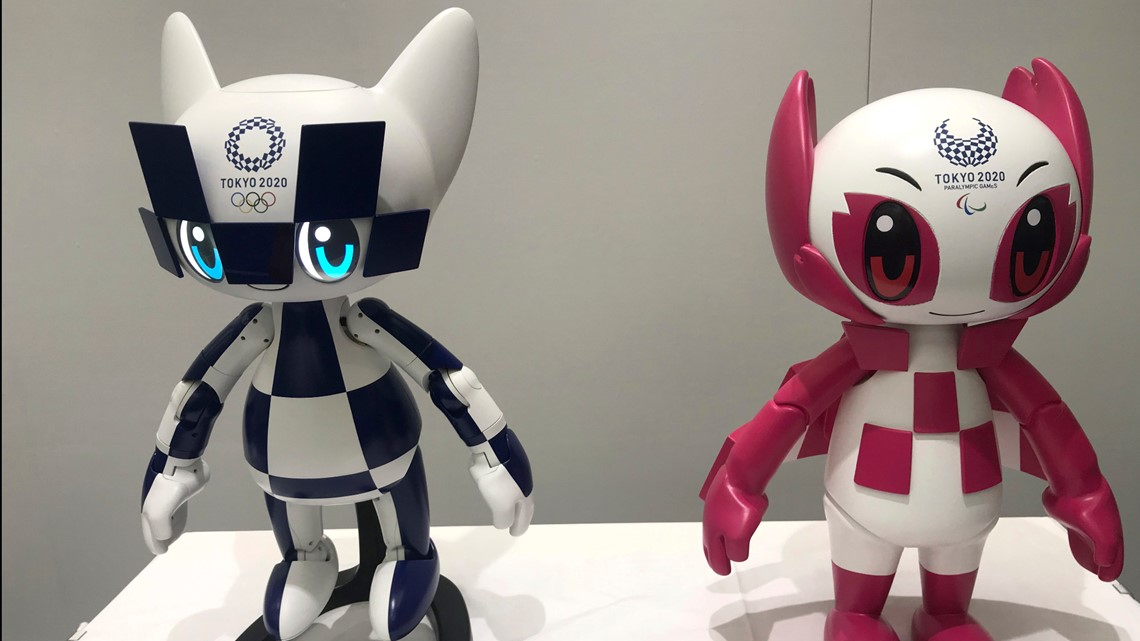 Olympic robots offer 'virtual' attendance, help out on field