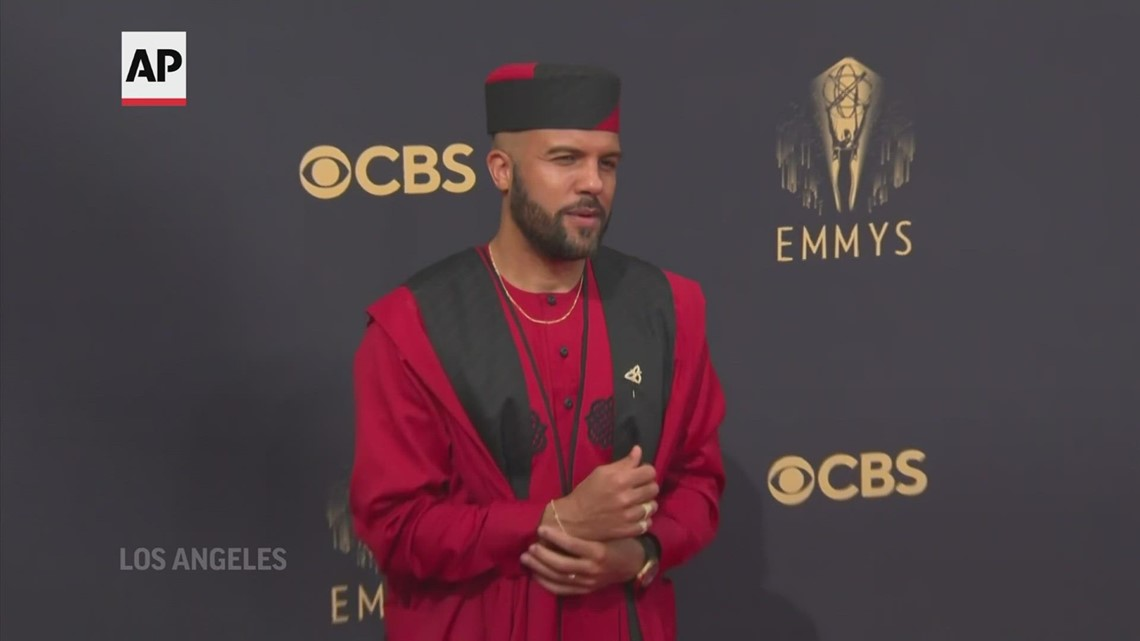 Red carpet fashion highlights from Emmy Awards