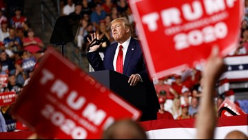 At New Hampshire rally, Trump ties US success to 2nd term: 'You have to vote for me'