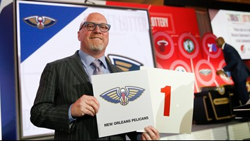 New Orleans Pelicans win No. 1 pick in NBA Draft Lottery