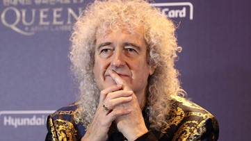 Queen guitarist Brian May reveals he was 'very near death' after a heart attack