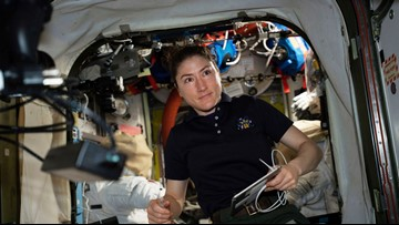 Female astronaut to spend 11 months in space, set record