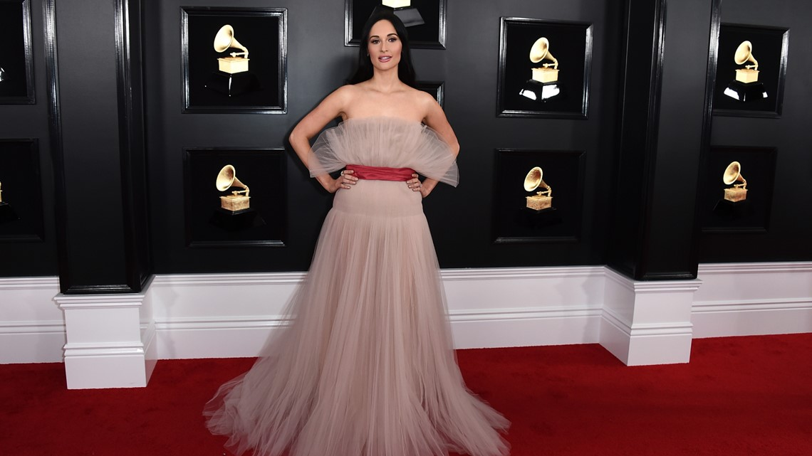 b7de1e81202 Kacey Musgraves arrives at the 61st annual Grammy Awards at the Staples  Center on Sunday, Feb. 10, 2019, in Los Angeles.