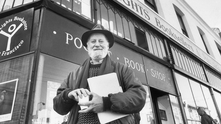 Beat poet, publisher Lawrence Ferlinghetti dies at 101