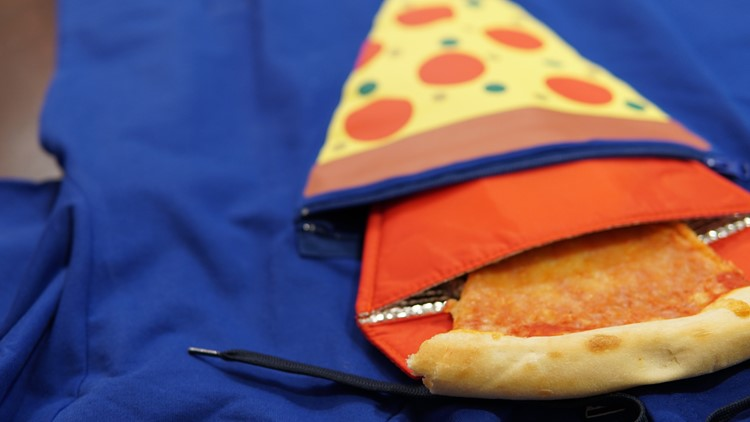 Pizza Hoodie with slice in pocket