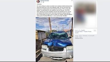 Reports: SUV of El Paso Walmart shooting victim's husband stolen, vandalized