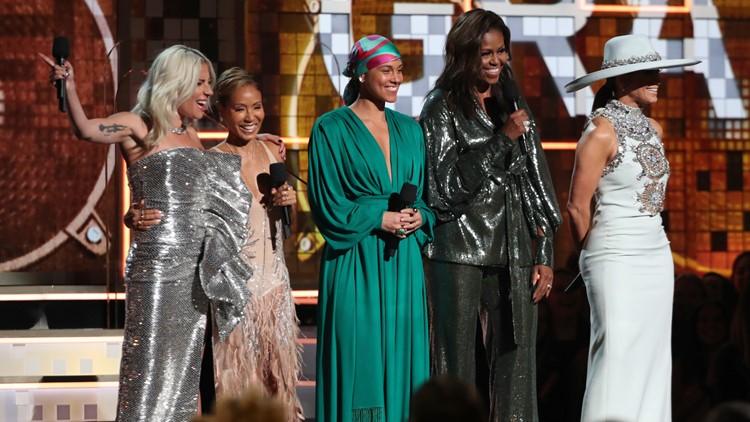 61st Annual Grammy Awards michelle obama