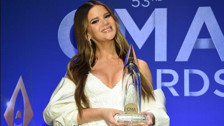 Maren Morris 2019 53rd Annual CMA Awards - Press Room