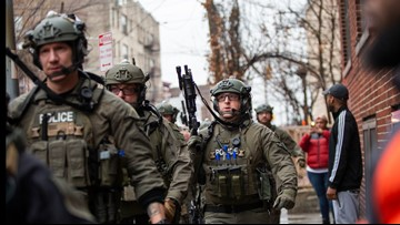 Jersey City shooting: 1 officer killed, 'multiple' people dead inside bodega