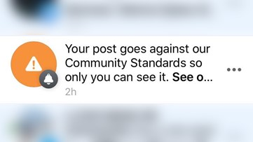 Did Facebook block your coronavirus post? Here's why