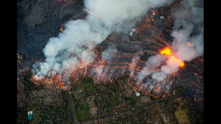 EPA USA HAWAII VOLCANO ERUPTION DIS VOLCANIC ERUPTION USA HI