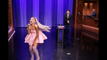 The Tonight Show' was all about Ariana Grande | kiiitv com