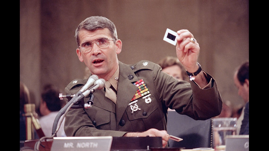 A look back at Oliver North: The NRA's new president | kiiitvcom