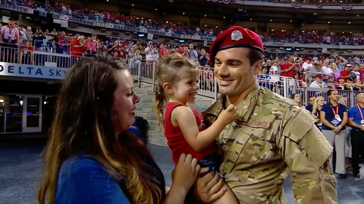 MLB All-Star Game hosts emotional Air Force reunion