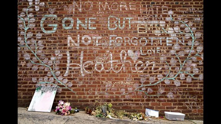 News21 Heather Heyer wall