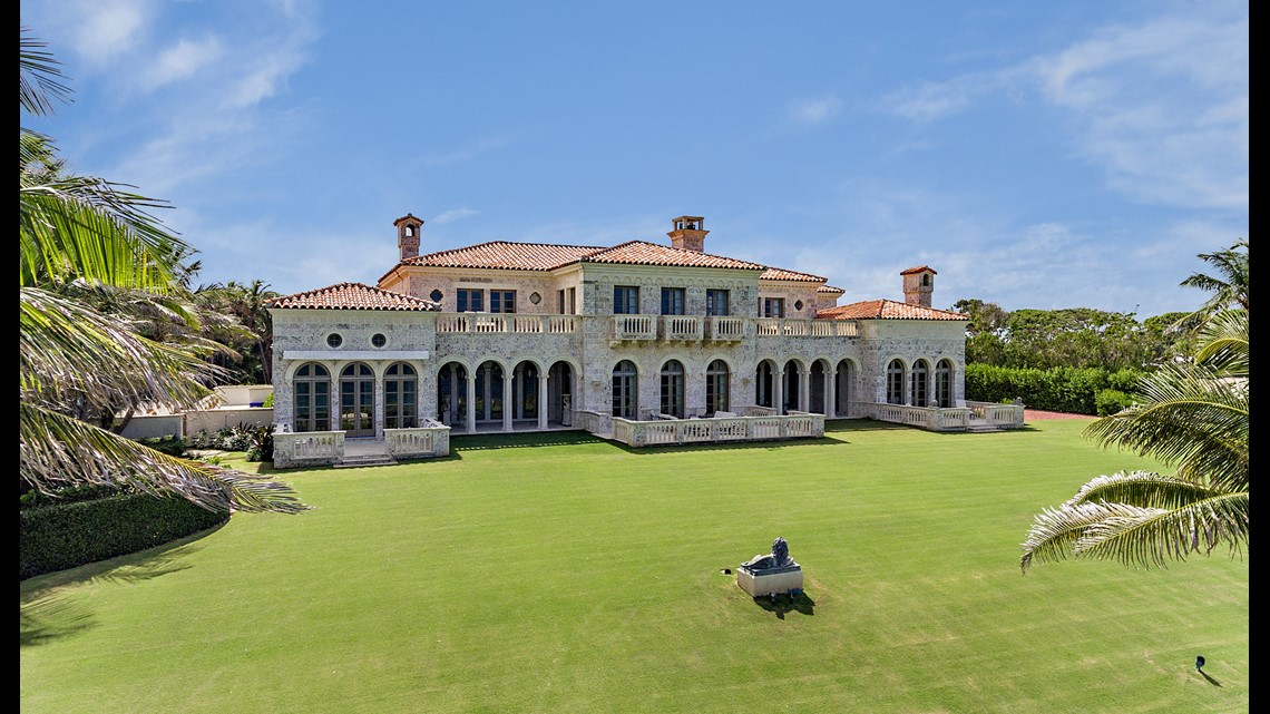 This is what a $135 million Palm Beach house looks like