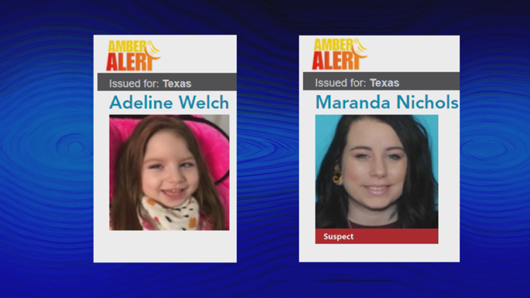 AMBER Alert Update: College Station Police say mother and child have been located in Oklahoma