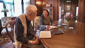 Senior dorm: college students move into assisted living home