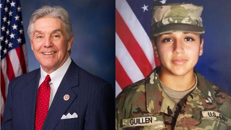 Congressman Roger Williams receives briefing on Vanessa Guillen case from Fort Hood leadership