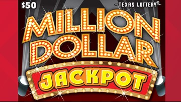 San Antonio resident claims $1 million scratch ticket prize