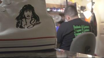 San Antonio artist's work in high demand after Selena shoe design makes waves