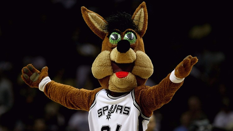 Spurs Coyote named 'most terrifying' mascot in Texas