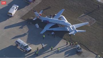 Two planes collide at SA Airport
