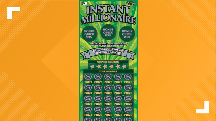 Helotes resident claims $2.5 million scratch ticket prize