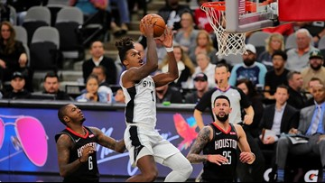 Spurs win over Rockets will not be overturned by NBA, league rules