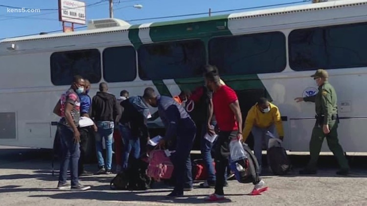 A new surge of migrants is overwhelming this Texas border town's resources